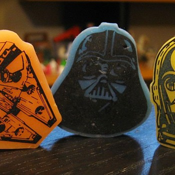 Vintage Star Wars Erasers - Movies