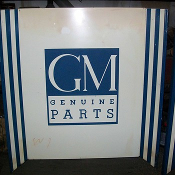 3 Gm/Chevrolet panels - Signs