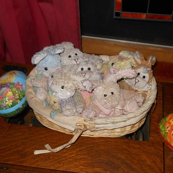 A Basket Full of Bunnies