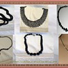 COLLECTION OF VICTORIAN MOURNING NECKLACES