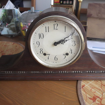 Vintage Plymouth Mantel Clock - Clocks