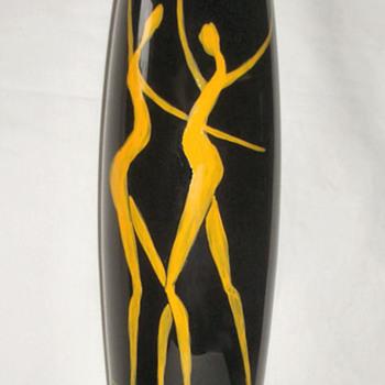 Sasaki Glass Bacchus Vase  - Art Glass