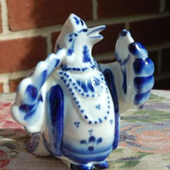 "Ceramic ""Vanity Bird"""