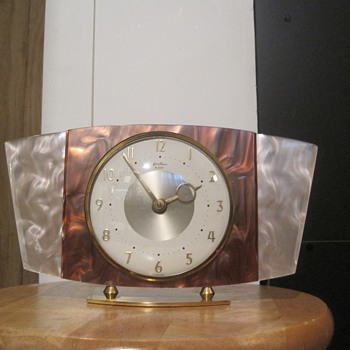 Bentima Faux Mother-of-Pearl 8 Day Clock