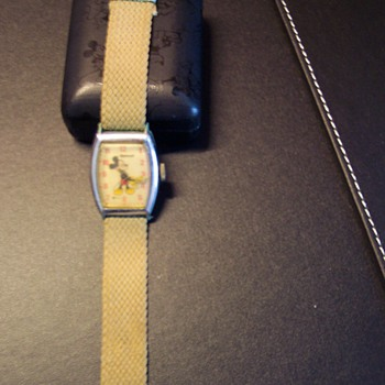 Original Mickey Mouse Wrist Watch