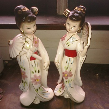 Asian figures  - Asian
