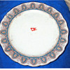 "Titanic First Class Dinner Plate-""Large"" Pattern"