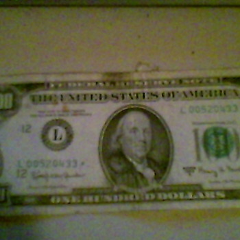 1963 series A $100 bill