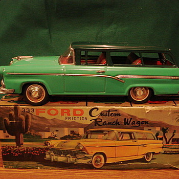 50&#039;s Ford Wagon - Model Cars
