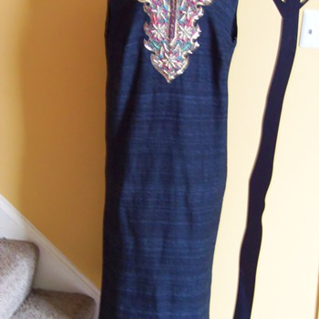 Embroidery, Sequinn and Beaded Dress  - Womens Clothing