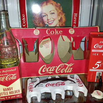Small Coca-Cola Items - Coca-Cola