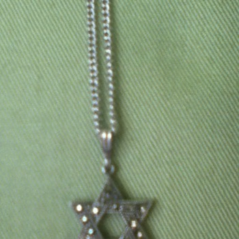 Sterling Silver Star of David by Theda - Fine Jewelry