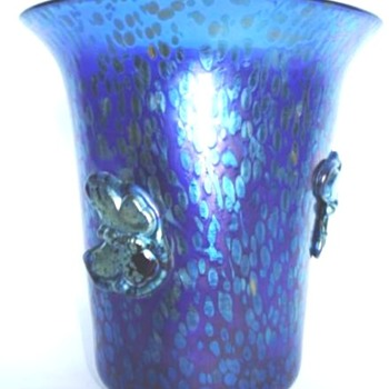 LOETZ PAPILLON VASES- WITH BUTTERFLIES. - Art Glass
