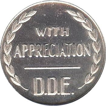 The Dwight D. Eisenhower Appreciation Medals - US Coins