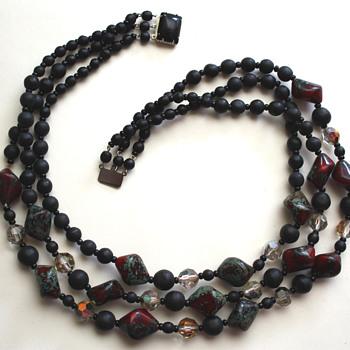 Vintage necklace - jasper?
