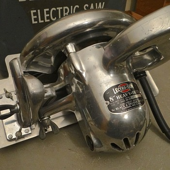 "1952  Black and Decker 8"" Lectro saw  - Tools and Hardware"