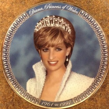 Princess Diana Plate - China and Dinnerware
