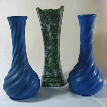 A few pottery pieces - Art Pottery
