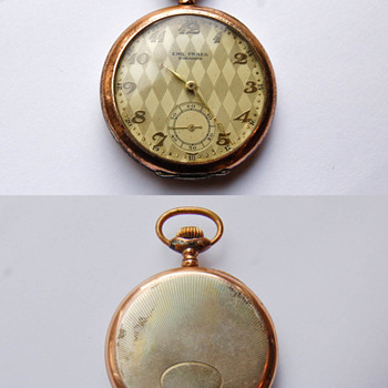 EMIL PRAEG - DORNBIRN - pocket watch. - Pocket Watches
