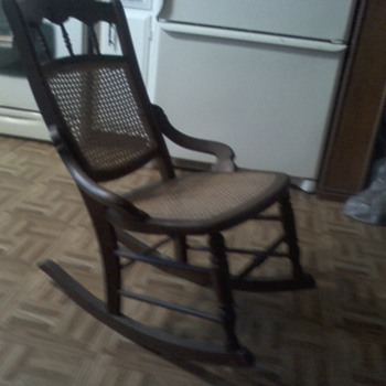 Antique Rocker Trying to find more about
