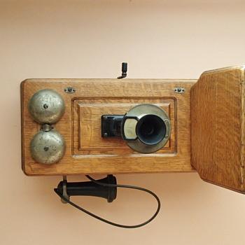 My Western Electric telephone