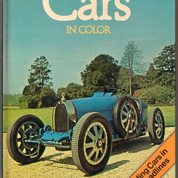 "1980 - ""Cars in Color"" Book - Books"