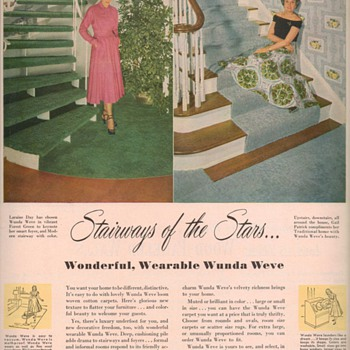 1950 Wunda Weve Advertisements - Advertising