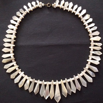 Vintage  picket  necklace