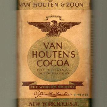 1930's/40's - Van Houten's Cocoa Tin