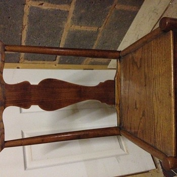 How old is my £5 chair? - Furniture