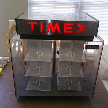 Old Timex revolving case...