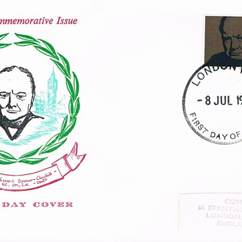 Churchill Historic Covers - Stamps