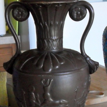 Egyptian Bronze Lamp