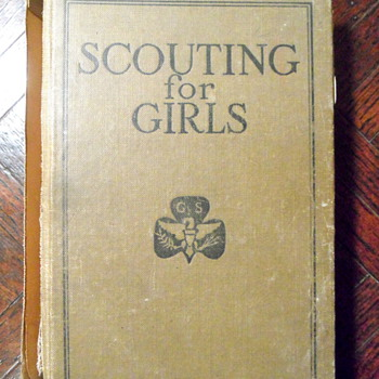 Signed by Juliette Low, 1920 Officers&#039; Version of Girl Scouts Handbook - Books
