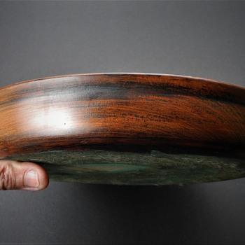 Manitowaning antique maple bowl.