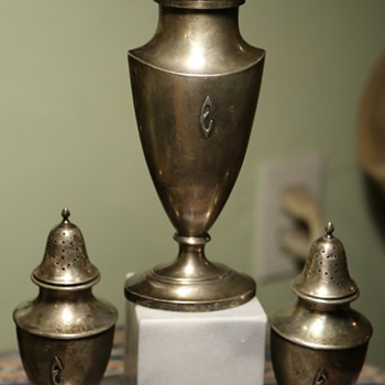 Shreve & Co. Sterling Silver Shakers