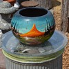 Painted Mexican Planter