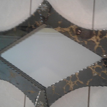 Old Antique Mirror - Furniture
