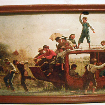 THE OLD STAGECOACH - Posters and Prints