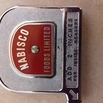 Pocket tape measure.made in canada