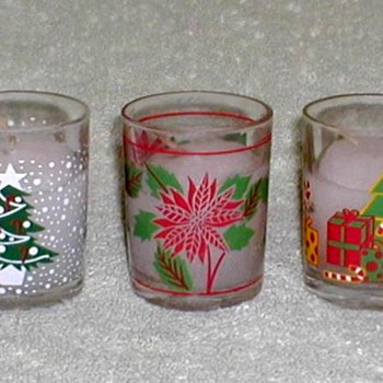 Christmas Votive Candles - Christmas