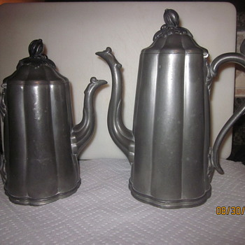 Reed and Barton Tea or Coffee pots - Sterling Silver