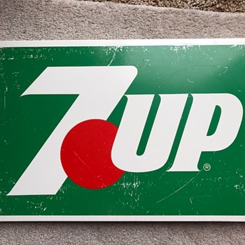 7up Metal Sign