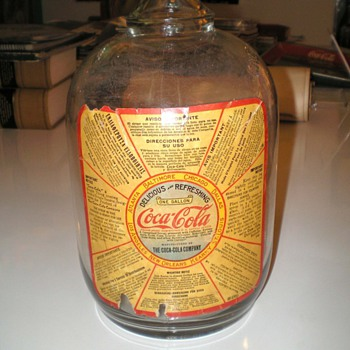 1930s Coca-Cola Syrup Jug