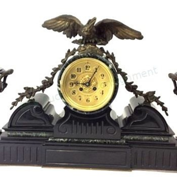 French Mantel Garniture - Clocks