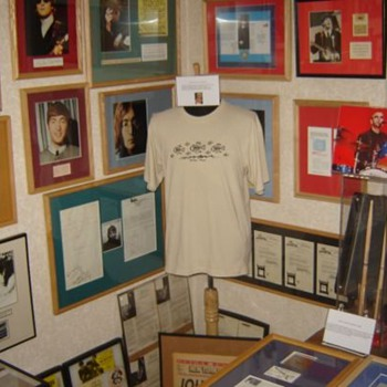 My Beatles room with John Lennon's shirt... - Music
