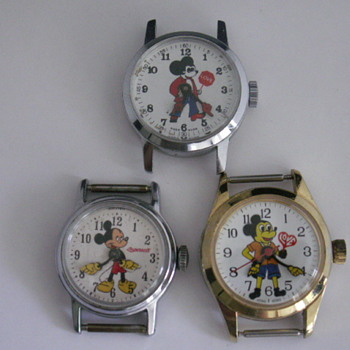 Repaired Mickey's by Kerry  - Wristwatches