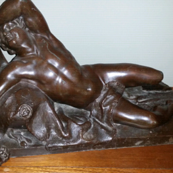 Large Bronze sculpture - Visual Art