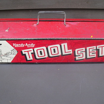 Handy Andy Tool Set! - Toys