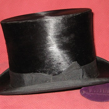Hungarian Made Silk Top Hat
